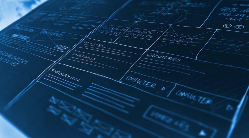 Client Blueprint Skizze