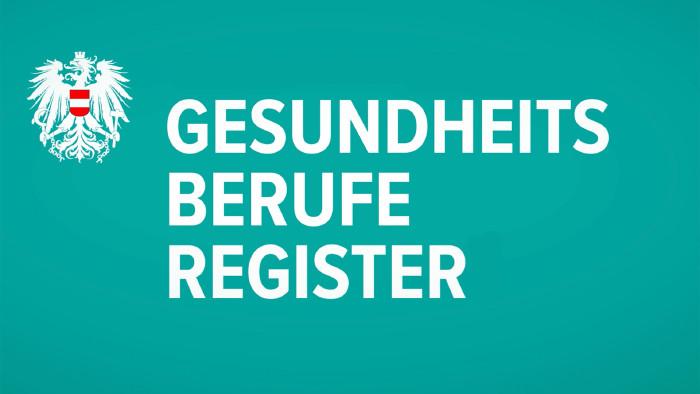Das Gesundheitsberufe Register Logo
